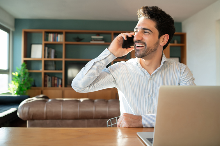 Working From Home with Business Phone and Support by Carrera UK in Portsmouth Hampshire